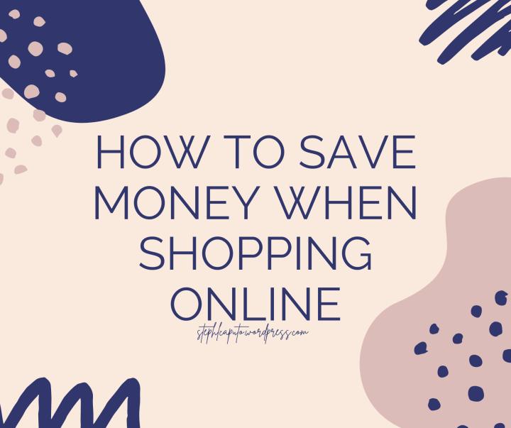 Save Money when ShoppingOnline